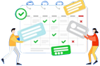 Administracion redes sociales calendario